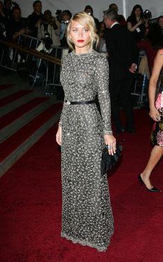 Ashley Olsen in vintage Dior Couture, 2006 Met Gala