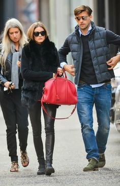 THE OLIVIA PALERMO LOOKBOOK: Olivia Palermo with Johannes Huebl in New York.