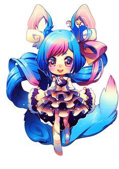 Chibi Ayana by Satchely Manga Cute, Cute Anime Chibi, Kawaii Chibi, Kawaii Cute, Kawaii Anime, Chibi Characters, Cute Characters, Cute Anime Character, Cute Animal Drawings Kawaii
