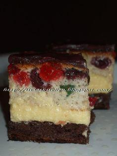 Livia`s Kitchen: Prajitura fantastica Romanian Food, Dessert Drinks, Something Sweet, Cheesecake, Cupcakes, Cookies, Recipes, Kitchen, Pastries