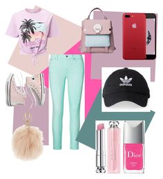 """""""Untitled #105"""" by cloestyles on Polyvore featuring Miss Selfridge, Ralph Lauren, Madewell, adidas, Furla, Christian Dior, men's fashion and menswear"""