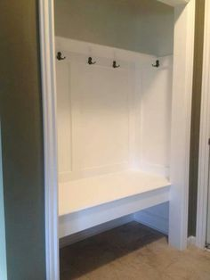 Hall Closet. Entryway ...