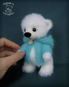 Knitted Bear by -Irina-
