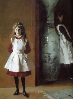 John Singer Sargent (1856-1925). The Daughters of Edward Darley Boit (Detail). Oil on canvas