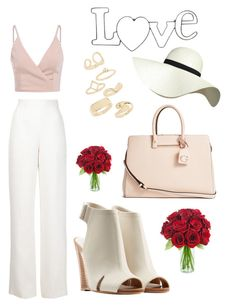 """Love u❤️"" by anicute on Polyvore featuring Maison Rabih Kayrouz, Pilot, rag & bone, Topshop and GUESS"