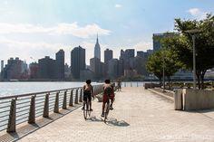 Gantry Park, en Queens, y una de las mejores vistas de Nueva York.