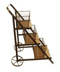 Farmhouse Table Top Produce Cart