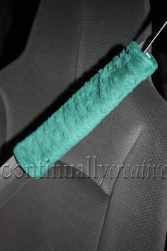 DIY seat belt covers -- they are so comfortable.  I don't know what I ever did without these in my car!