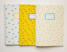 handmade notebooks from Vert Cerise