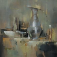 """Saatchi Online Artist: Barry Patterson; Oil, 2013, Painting """"Still Life XII"""""""