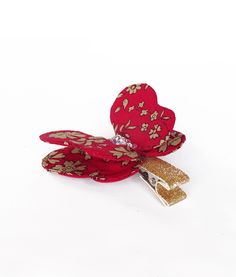 Liberty of London Red Capel - Luciole et Petit Pois #hairclip