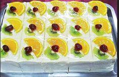De departe cea mai aratoasa prajitura de anul acesta – Prajitura Visul Fructelor Romanian Food, Mai, Sushi, Biscuits, Diy And Crafts, Sweets, Cooking, Ethnic Recipes, Desserts