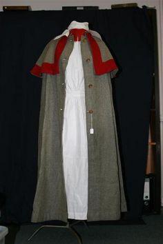 World War I extremely rare nurses uniform, belonging to Nurse… History Of Nursing, Medical History, Historical Costume, Historical Clothing, Edwardian Fashion, Vintage Fashion, Vintage Nurse, Make Do And Mend, Kaiser