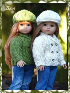 Knitting-Pattern-Bria-textured-sweater-cardigan-only-for-18-American-Girl-dolls