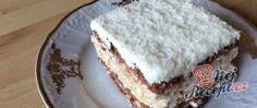 Falešené kokosový tiramisu s kakaovými sušenkami Biscuits, Krispie Treats, Vanilla Cake, Tiramisu, Cheese, Baking, Desserts, Voici, Moldova