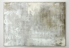 grey white composition - 140 x 100 x 4 cm, mixed media on canvas - CHRISTIAN HETZEL