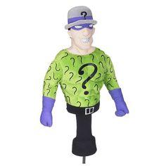 Batman The Riddler Character Plush Golf Club Cover