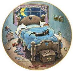 Sleeping with dachshunds