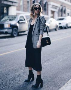 plaid blazer - Style It Up