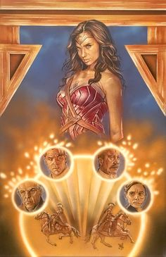 Wonder Woman Illustration by saintworksart / Matthew Hirons. Airbrush and color pencil on Illustration Board. Movie Dates, Woman Illustration, Beautiful Posters, Star Lord, Gal Gadot, Marvel Dc Comics, Guardians Of The Galaxy, Colored Pencils, Instagram Feed