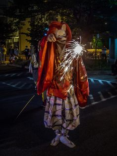 As happens in most events in the Yoshiwara, Kitsune-san, the fox-deity from the Yoshiwara Jinja, one of the most venerable shrines of the broader Asakusa area was also there and he seemed to enjoy the show! 3/4 #Asakusa, #Yoshiwara, #fireworks, #hanabi, #taikai, #Kitsune, #jinja September, 13 © 2015 Grigoris A. Miliaresis