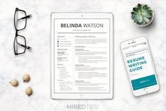 Ad: Sales Resume + Cover Letter format by HIRED Design Studio on Creative Market… Cover Letter Template, Cover Letter Format, Cover Letter For Resume, Letter Templates, Cover Letters, Manager Resume, Resume Cv, Resume Writing, Resume Design