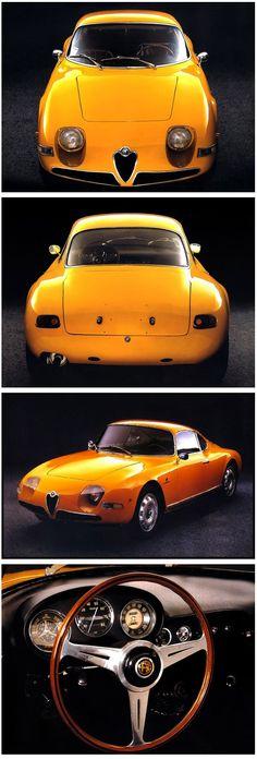 """1961 Alfa Romeo Giulietta """"Goccia"""""""