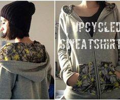 Upcycle your old sweatshirt