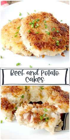 Use that leftover beef and mashed potatoes to make these delicious beef and potato cakes. Perfect for breakfast or brunch topped with an egg! #beef #potato #leftover #mashedpotato #cake #hash #brown #breakfast #brunch #recipe Beef And Potatoes, Mashed Potatoes, Best Beef Recipes, Potato Cakes, Brunch, Breakfast, Whipped Potatoes, Morning Coffee, Smash Potatoes