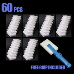 Who knew? Apparently Mr Clean Magic Erasers are just this stuff called Melamine Foam? You can buy it in bulk on Amazon for WAY less than Mr Clean brand name