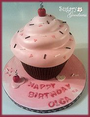 Great giant cupcake