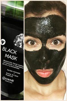 Black Mask carbón activado de concha de coco