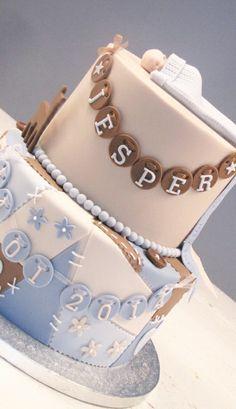 Geboorte jongenstaart Birthday Cake, Baby, Inspiration, Biblical Inspiration, Birthday Cakes, Infants, Baby Humor, Babies, Infant