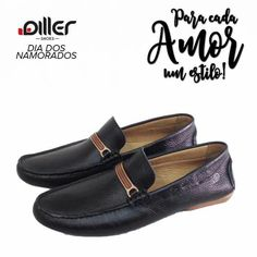 Mocassim Em Couro Diller Shoes - Clássico, confortável e cheio de estilo. 👔👞