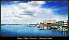 Kapuas River, West Kalimantan, Indoensia
