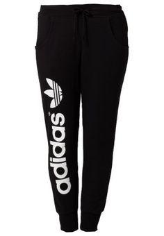 new product 180b6 b9a08 adidas Originals BAGGY - Tracksuit bottoms - black - Zalando.co.uk