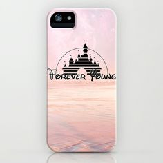 Disney forever young iPhone Case by Tilly - $35.00