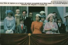 June Prince Charles & his fiancé, Lady Diana Spencer & the Royal family on the balcony of Buckingham Palace watching Trooping the Colour ceremony. Princess Of Wales, Princess Diana, Lady Diana Spencer, All Family, Prince Charles, Buckingham Palace, Troops, June, Balcony