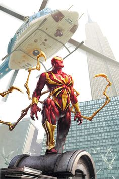 The Iron Spider (from Sensational Spider-Man #26)