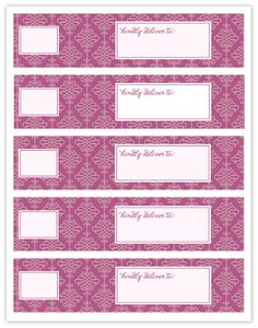 Reader Share Wraparound Mailing Labels  Printable Labels And