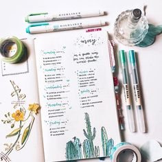 """7,714 Likes, 42 Comments - Brian Qian (bullet journal) (@studywithinspo) on Instagram: """"Music & Goals list // just finished editing a new plan with me video, and now I'm currently heading…"""""""
