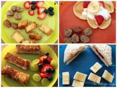 The Larsen Daily: Toddler Eats! (Part with links to parts 2 and Healthy Toddler Meals, Healthy Kids, Kids Meals, Toddler Food, Healthy Food, Baby Food Recipes, Snack Recipes, Toddler Recipes, Healthy Recipes