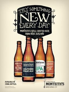 MONTEITHS BEER ADVERTISING - Google Search