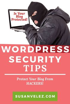 WordPress security tips, don't be the next victim. Learn how to protect your live WordPress blog. Step-by-step tutorial on protecting your.. via @susanwptutorial