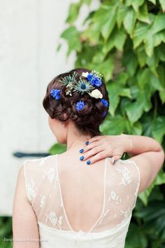 Elena Fleutiaux photographie. Fleurs : Poppy Figue Flowers Coiffure : Madame Sans gêne