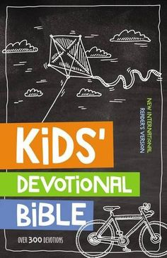 The  NIrV Kids' Devotional Bible  is both a Bible and devotional in one. (I received the hardcover edition  to review, but it is also ava...