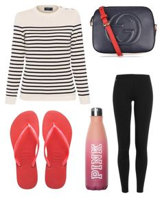 """""""Untitled #8451"""" by ohnadine on Polyvore featuring Gucci, Polo Ralph Lauren, Havaianas and Saint James"""
