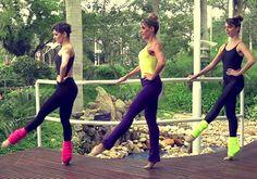 Faça em casa a aula de ballet fitness e fique com o corpo durinho