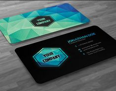 Buy Creative Modern Polygon Business Card by badbugs on GraphicRiver. Creative and clean Modern Polygon Business Card used for all purpose. Lawyer Business Card, Spa Business Cards, Cleaning Business Cards, Simple Business Cards, Business Card Mock Up, Business Card Design, Creative Business, Business Ideas, Photographer Business Cards