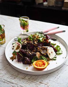 Beetroot Kale Salad